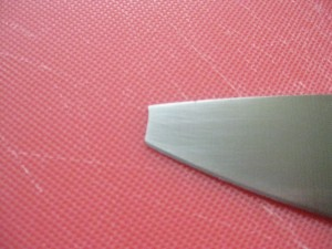 Broken Henckels Knife Tip