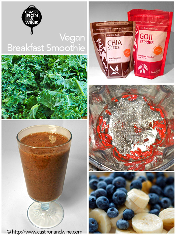 Vegan Breakfast Smoothie