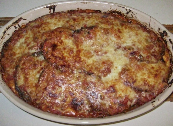 Gluten Free Eggplant Parmesan - Cast Iron and Wine