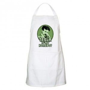tesla_is_my_homeboy_bbq_apron