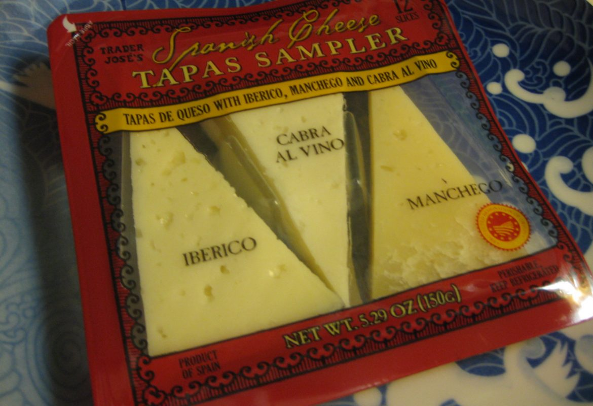 Trader Joe's Spanish Cheese Tapas Sampler