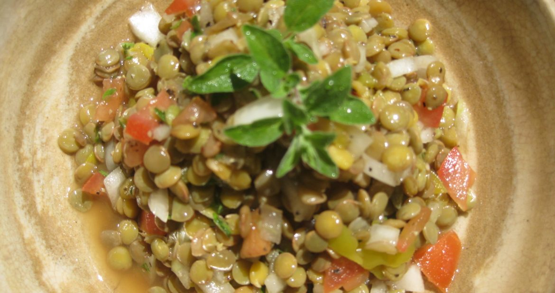 Quick Lentil Salad